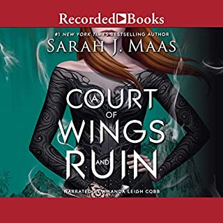 A Court of Wings and Ruin                   Written by:                                                                                                                                 Sarah J. Maas                               Narrated by:                                                                                                                                 Amanda Leigh Cobb                      Length: 25 hrs and 9 mins     135 ratings     Overall 4.8