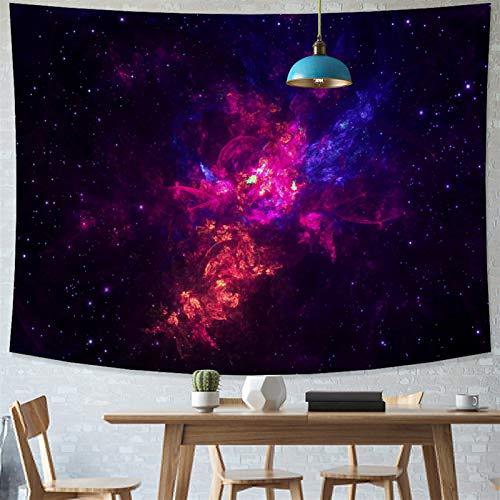 xinmeng Universum Space Nebel Große Kunst-Tapisserie Gedruckt Wandabdeckung Psychedelische Wandbehang (Color : 2020 1134, Size : 95x70cm)