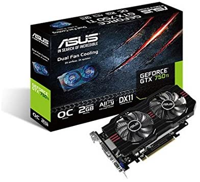 Amazon Com Asus Geforce Gtx 750ti Gddr5 2gb Graphics Card Gtx750ti Oc 2gd5 Computers Accessories