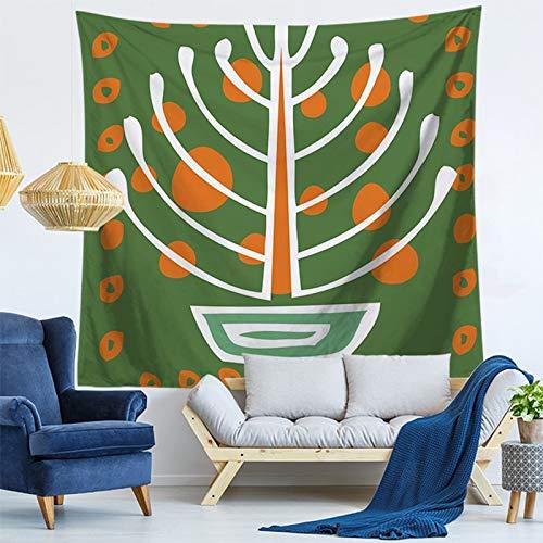 WERT Tapiz de Pared con diseño de Mandala para el hogar, decoración del hogar, tapices de Estilos para Colgar en la Pared, tapices para Sala de Estar, Dormitorio A11 95x73cm