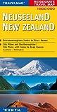 Reisekarte : Neuseeland -