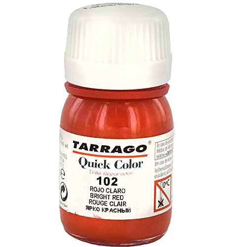 Tarrago Quick 25ml, Pinturas y tintes Unisex Adulto, Rojo (Bright Red 102), 20 mL