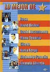 Mejor De Rosa, David Bisbal, David Bustamante, Manu Tenorio, Gisela, Nuria Ferg¢, Alejandro Parre¤o, F¢rmula Abierta