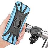 Cocoda Soporte Movil Bici, Soporte Móvil Moto Bicicleta 360° Rotación Magnética Desmontable [Pantalla Completa Amigable] Porta Movil Motocicleta Manillar Accessories para 4.0'' - 6.5'' Teléfonos
