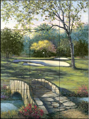 Keramik Fliesenbild - alte Brücke bis 18 nummeriert - von Sambataro - Küche Aufkantung / Bad Dusche