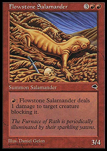 Magic: the Gathering - Flowstone Salamander - Tempest