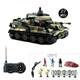 Fun-Here Mini RC Tank with USB Charger Cable Remote Control Panzer Tank 1:72...