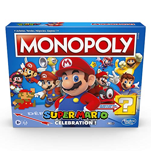 Le jeu de Monopoly Super Mario Celebration