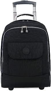 KTYXDE Travel Backpack Backpack Student Bag Wheel Rolling Decompression Backpack Trolley case (Color : Black)