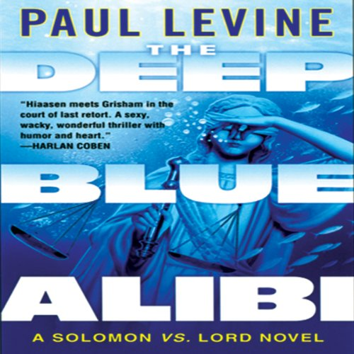 The Deep Blue Alibi audiobook cover art