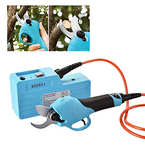 Review XYOUNG Electric Pruning Shears with 4.4AH Battery Powered Tree Branch Pruner,36V Branch Prune...