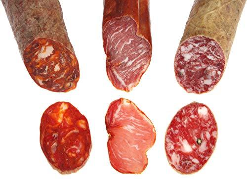 Señorío Ibérico - Pack Ibéricos: Lomo, Chorizo, Salchichón