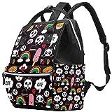 Bolso cambiador de momia multifunción portátil mochila impermeable pañal bolsa de viaje bolsas de pañales bolsa doctor mochila escolar - divertido Panda