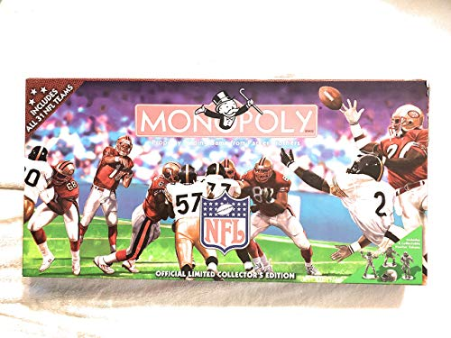 1998 NFL Limited Edition Monopoly Game - 31 Teams - Football - Tennessee Oilers