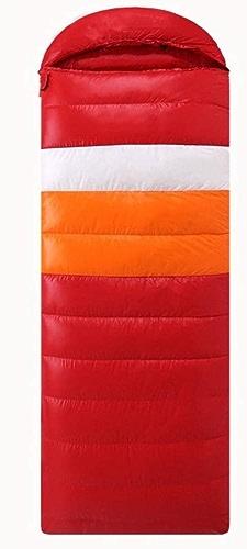 JUNBOSI Sacs de Couchage Premium Sac de Couchage Enveloppe, Duvet d'oie 1200g,pour la Maison Camping Randonnée Activités intérieures et extérieures