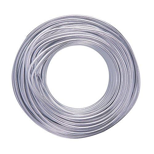 NBEADS Filo Metallico Floreale, Filo di Alluminio da 25m 3.0mm per Artigianato Che realizza Scultura e modellazione