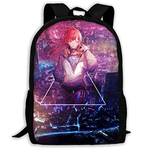 IKUI D VA Adult Backpack, Laptop Backpack for Women Men,School College Backpack