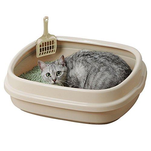 アイリスオーヤマ ネコのトイレ ミルキーブラウン NE-550