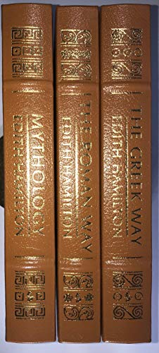 Edith Hamilton's: MYTHOLOGY, GREEK WAY, ROMAN WAY 3 vol