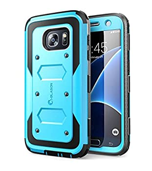 i-Blason Case Designed for Galaxy S7 Armorbox Series Built-in Screen Protector Full body Heavy Duty Protection Shock Reduction Bumper Case for Samsung Galaxy S7 2016 Release  Blue