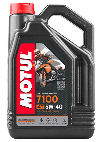 Motul 7100 4T 5W40 100% Synthetic Engine Oil 4 Liters (104087)