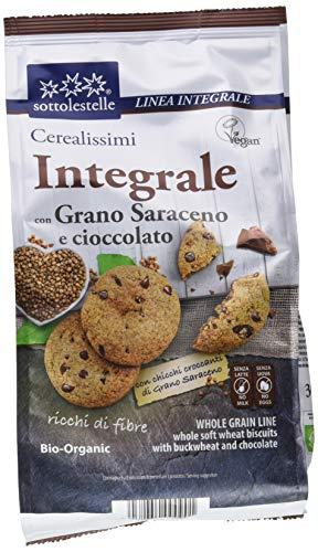Sottolestelle Cerealissimi Saraceno Integrale Gocce Cioccolato - Pacco da 8 x 300 g