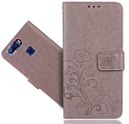 Leagoo S8 Pro Handy Tasche, FoneExpert® Wallet Hülle Cover Flower Hüllen Etui Hülle Ledertasche Lederhülle Schutzhülle Für Leagoo S8 Pro