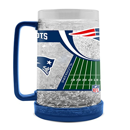 NFL New England Patriots Kristall-Tasse, 454 ml