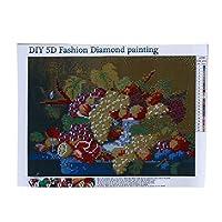 Sperrins DIY 5Dダイヤモンド塗装キットフルクロス3Dモザイク刺繍ラウンドラインストーン動物ギフト