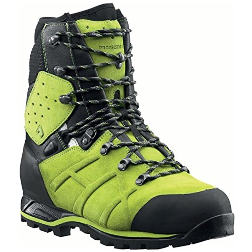 Haix Protector Ultra Lime Green Schnittschutzstiefel UK 10.5 / EU 45 Grün