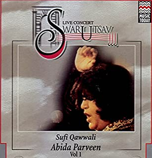 Live Concert Swarutsav: Sufi Qawwali (Vol. I)(Audio CD)
