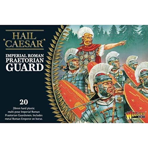Warlord IR-03 - Kaiserliche römische Hagel Caesar - Kaiserfigur und 28mm Praetorian Guard Miniaturen x20