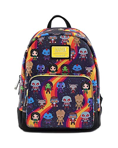 Loungefly x Marvel Guardians of The Galaxy Chibi AOP Mini Backpack