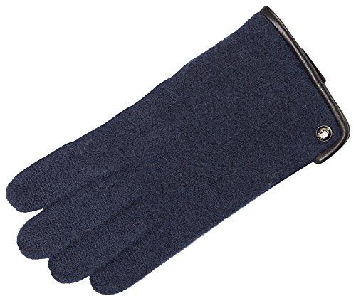 Roeckl Herren Klassischer Walkhandschuh Handschuhe, Schwarz (Navy 590), 9