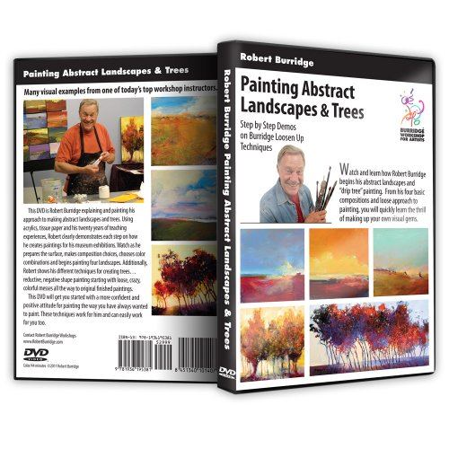 Bob Burridge 'Painting Abstract Landscapes and Trees' DVD