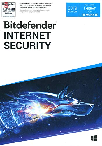 Bitdefender Internet Security 1 Gerät / 18 Monate|Standard|1|18 Monate|PC+Mac+iOS+Android|Download|Download