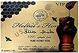 Helmi's Honey -100% Honey/Organic (The Only One with Pure Honey). Helmi's Honey Sexual Wellness Enhancement for Men, Provides A Quick Source of Energy to Enhance Male Vitality.
