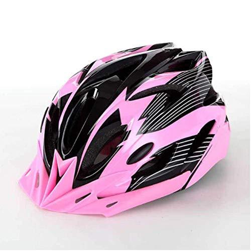 Huai1988 Casco de Ciclismo Para Adultos, Para Hombres Mujeres Casco de Bicicleta Color Negro Mate Ajustable para Adultos Protección de Monopatín Casco de Seguridad Protección de Montaña Unisex