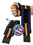 Titan Support Systems THP Powerlifting Wrist Wraps (19 inch 50cm)