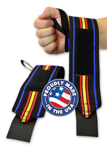 Titan Support Systems THP Powerlifting Wrist Wraps (12 inch Length)