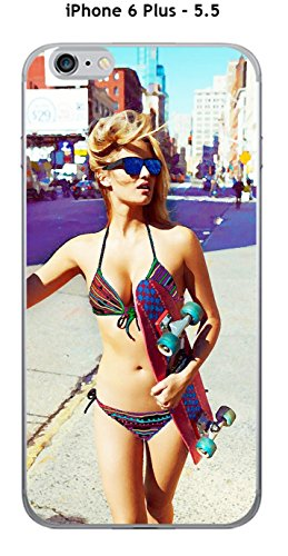 Onozo 'Cover Apple iPhone 6Plus-5.5Design Donna Sexy con Skate Disegno