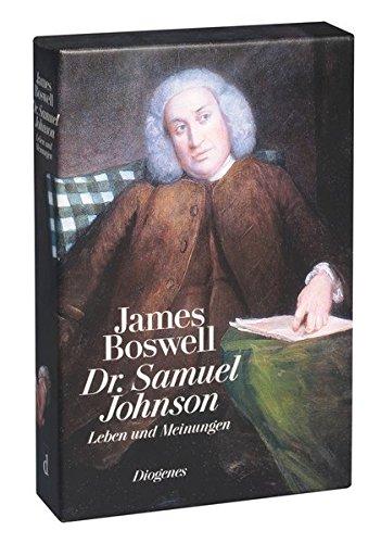 Dr. Samuel Johnson: Leben und Meinungen