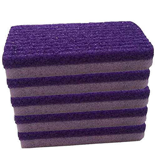 Frcolor 5pcs pied décolleur de callosités pédicure Foor File Scrubber pour l'exfoliation Supprimer la peau morte