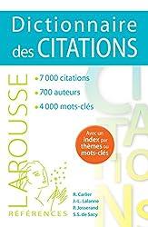 Dictionnaire des citations de Robert Carlier