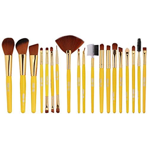 POachers Kit de 19 Pinceaux Maquillage - Brosse de Maquillage/Beauté & Make-up Brush Cosmétique Make Up Brush Pinceau cosmétique de qualité Professionnel