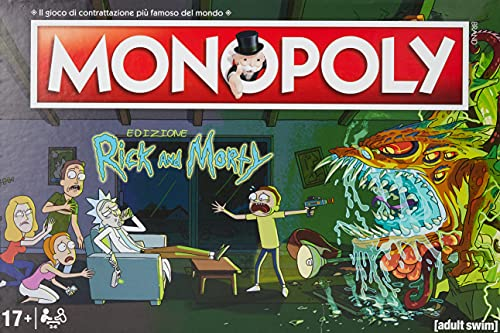 Winning Moves - Rick and Morty Monopoly...