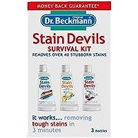 Dr Beckmann Stain Devils - Kit de supervivencia (2 unidades de 50 ml, 1 de 50 g)