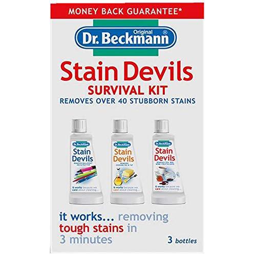 Dr Beckmann Fleck Devils Survival Kit (2 x 50ml, 1 x 50g)