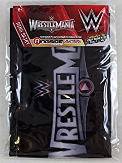 WWE Ring Skirt (Wrestlemania 31) Ring Skirt Ringside Exclusive Wicked Cool Toys Toy Wrestling Action Figure PLAYSET Accessory - Ring NOT Included