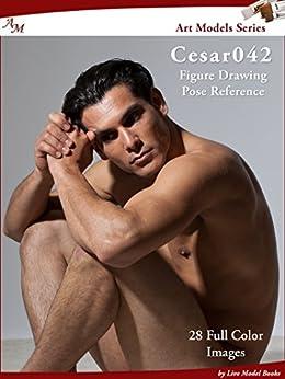 Art Models Cesar042: Figure Drawing Pose Reference (Art Models Poses) by [Douglas Johnson]